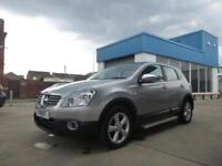 2008/58 Nissan Qashqai 2.0dCi 4WD auto Tekna + ONLY 59000 MILES