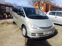 Toyota Previa 2.4 VVTi ( 8 seater LPG GAS COVERTED UK REGISTERED