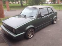VW golf mk1 cabriolet project