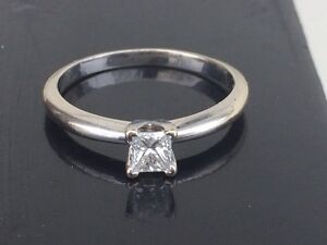 Gorgeous VVS1 Princess Cut Diamond 0.33carat VALUE!!!  Strathcona County Edmonton Area image 6