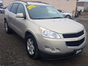 2011 Chevrolet Traverse LT AWD CERTIFIED 2 YEARS WARRANTY Includ London Ontario image 2
