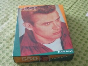 1990 JAMES DEAN UNOPENED 550 PIECE PUZZLE $10 MOVIE STAR
