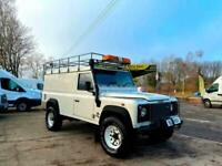 2002 (51) LAND ROVER DEFENDER 110 2.5 TD5 HARD TOP + CLEAN BODY WORK + NO MOT