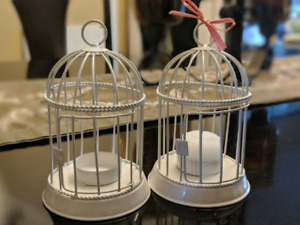 Birdcage Tealight Candle Holders
