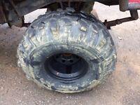 38.5/1516 super swampers on 12x16 wheels with bead locks, off road tyres hilux, Navara patrol