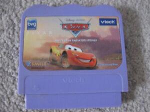 V-Tech Cars Rev It Up In Radiator Springs game cartridge + game