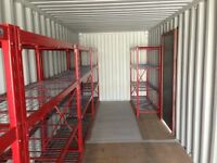 Snap on Style Shelving units