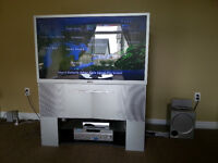 "Sony Home Theatre plus 46"" Sony TV Projector"