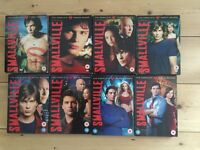 Smallville complete 8 box set seasons