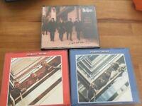 3 x Beatles albums