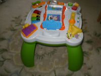 LIKE NEW BILINGUAL3 IN 1 LEAP FROG LEARNING TABLE ENGLISH/FRENCH