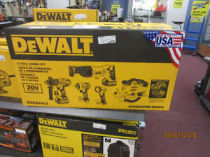 Dewalt 5 Tool Kit NEW IN BOX!!!