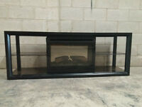 Fireplace TV Stand for sale