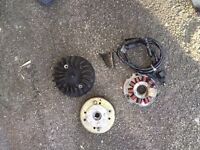 Piaggio typhoon ac stater and magneto fan