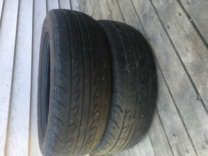 Two 185/65R15 Summer Tires