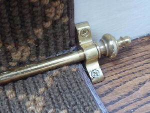 Stair Runner Rod Hardware
