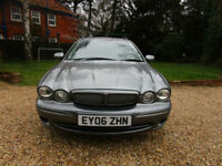 2006 06 Jaguar X-TYPE 2.2D Sport TOURER ESTATE PRACTICAL CAR DIESEL 6 SPEED 155