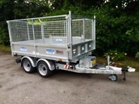 Trailer tipper trailer dale kane electric tipping trailer
