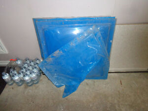 """24""""x24""""    Six - Clear Poly Bubble Skydome in NEW"""