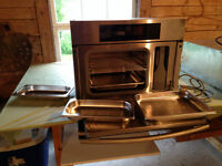 Miele Stainless Steel Steam Oven DG 4080 AND Warming Drawer