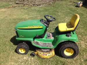 Lt160 john Deere trade for 4 wheeler