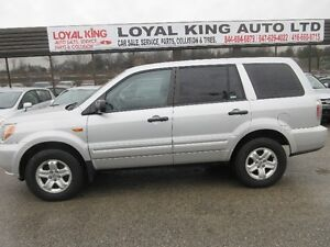 2007 HONDA PILOT CERTIFIED AND E TESTED LOW