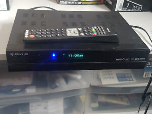 Nfusion HD FTA Receiver and remote