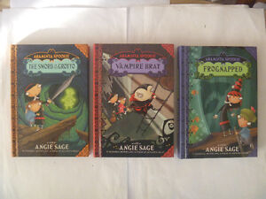 ARAMINTA SPOOKIE Hardcovers - 3 to choose from