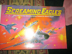 Screaming Eagles board game complete vintage