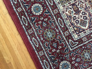 Faux Persian Rug with Nonslip Underlay