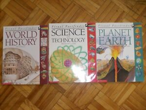 Science, history, earth books