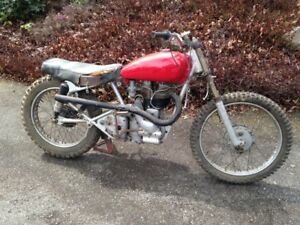 Rare Vintage 1955 Indian Woodsman ( Royal Enfield ) - $2,500