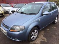 Chevrolet 1.4 petrol automatic HPI clear new mot