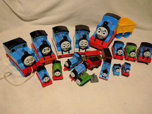 Thomas and Friends ,trains and track