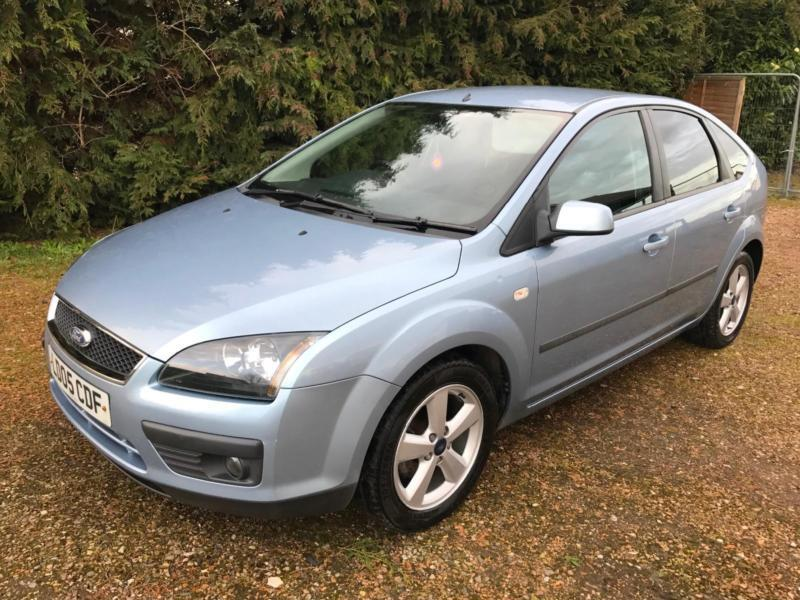 2005 Ford Focus Zetec Climate Tdci 1 6 Cambelt Full Service History New Battery