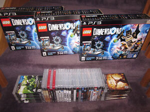 PS3 Games A - New in sealed boxes (some store-opened )