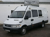IVECO DAILY 50C17 MINIBUS CREW MOTORHOME CAMPER CELL DOG DAY MOTOX BUS BAND VAN