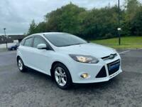 2014 FORD FOCUS 1.6 TDCI ZETEC FROZEN WHITE £20TAX NEW TIMING BELT JUST SERVICE