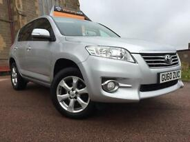 *3 MTHS WARRANTY*2010 TOYOTA RAV 2.2 D4D XT-R 5DR WITH 58K FSH 1 FORM KEEPER*
