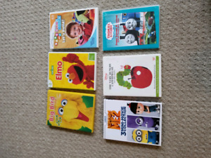 Children, Kids and Baby DVD's