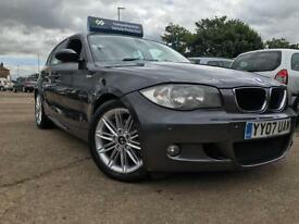 2007 BMW 118 2.0TD 2007MY d M Sport-SAT NAV-FSH-2 KEYS-LEATHER-START/STOP