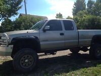 """2001 Chevy 10"""" lift, trade for a diesel truck"""