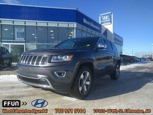 2015 Jeep Grand Cherokee Limited v6 4x4 navigation leather