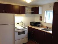Bel appartement 4 1/2 meublé à louer au CENTRE-VILLE - 1 Janvier