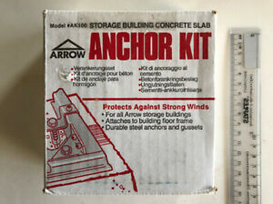 Arrow Concrete Anchor Kit