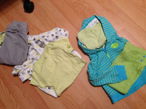 Assorted girls clothing: 12-24 months
