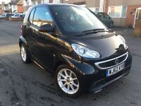 Smart Fortwo 0.8 CDI Diesel 2013, 23k Miles Service History, Satnav,HEATED SEATS,Automatic,HPI Clear