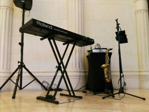 DUO available for special events (saxophone & keys)