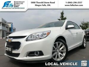 2016 Chevrolet Malibu Limited LTZ  SUNROOF,LEATHER,REARCAM,R.STA