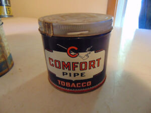 COMFORT pipe TOBACCO TIN   HOUDE GROTHE LTD MONTREAL CANADA